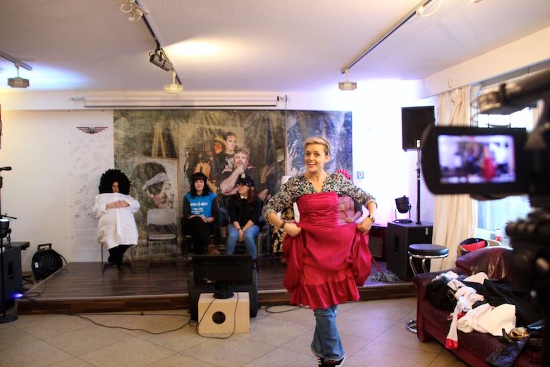 Ausbildung zum Vocalcoach: Kati, unsere Prinzessin, leicht wie eine Feder!