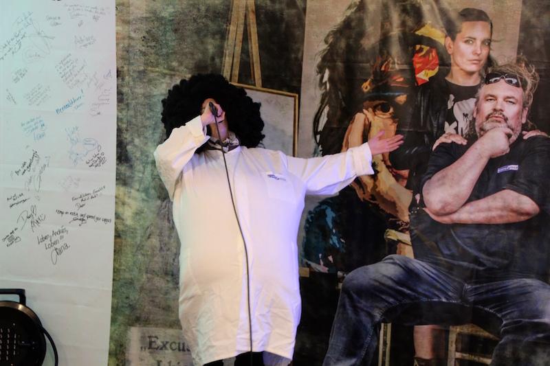 Ausbildung zum Vocalcoach: Janine als Opernsänger