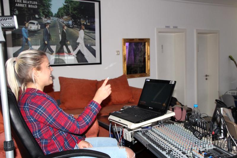 Ausbildung zum Vocalcoach: Seitenwechsel: Mickela in der Coachfunktion!