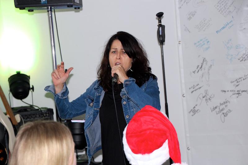 Sängerausbildung Dezember 2017: Andrea aus der Schweiz