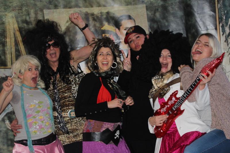Sängerausbildung Januar 2018: Susi, Rolf, Andrea, Ina, Tini und Mickela