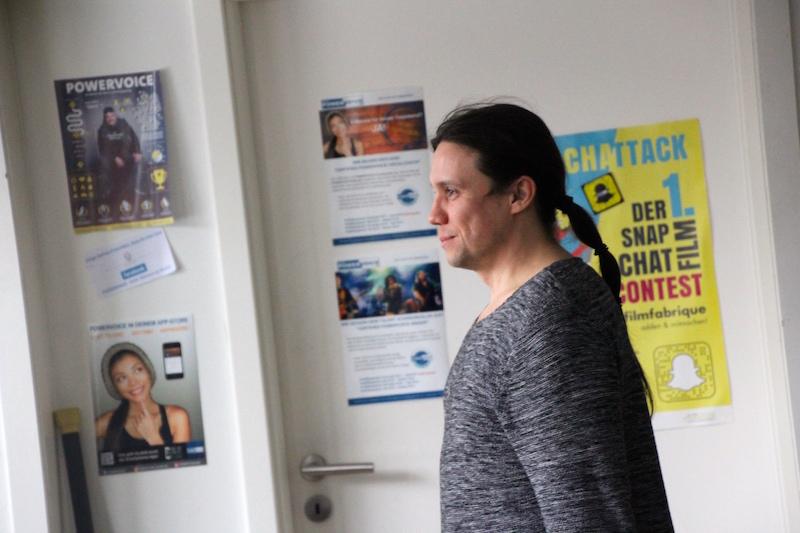 Ausbildung zum Vocalcoach Februar 2018: ... und Roman genießt es sichtlich!