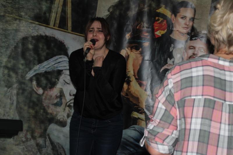 Ausbildung zum Vocalcoach Februar 2018: Liv rockt Tainted Love