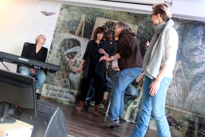 Ausbildung zum Vocalcoach Februar 2018: Team Stefan