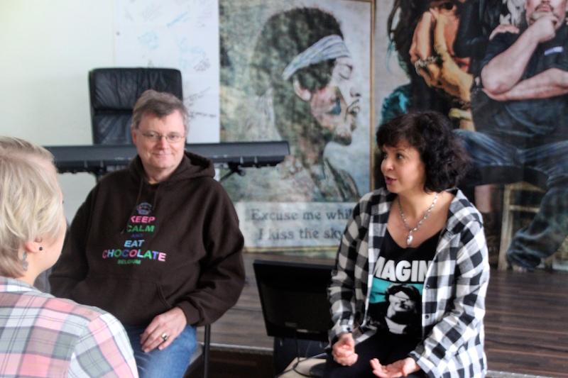 Ausbildung zum Vocalcoach Februar 2018: Workshoptime mit Nadja und Stefan