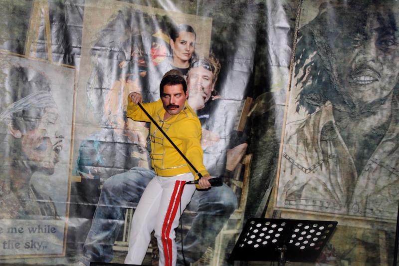 Sängerausbildung Februar 2018: Freddie Mercury Show