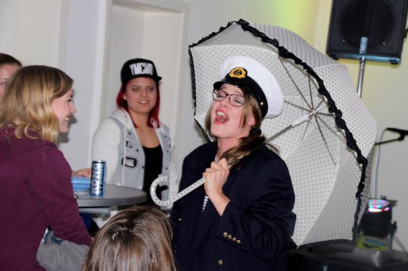 Sängerausbildung Februar 2018: Sarah mit ihrem Seemannslied