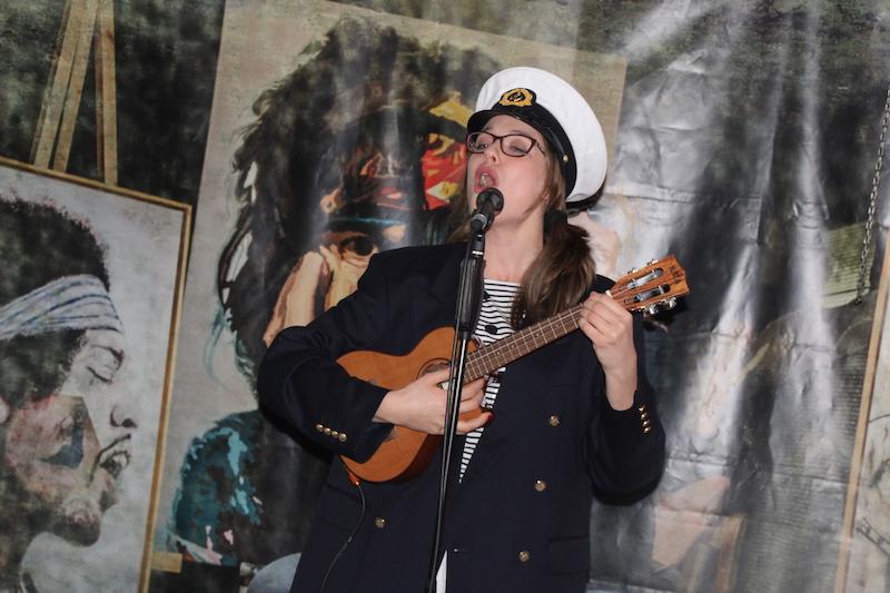 Sängerausbildung Februar 2018: Sarah singt von der See