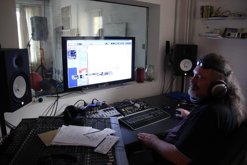 Sängerausbildung März 2018: Andrés an den Reglern