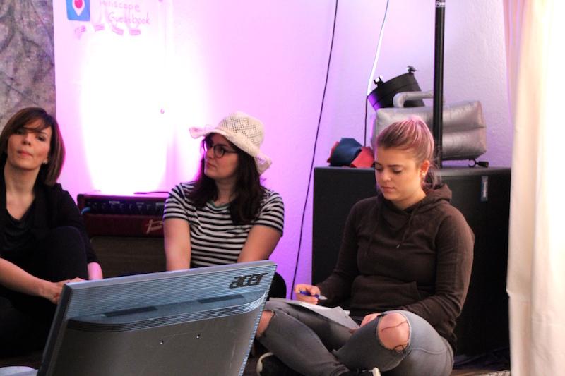 Ausbildung zum Vocalcoach April 2018: Micka schreibt das Drehbuch für Andrés