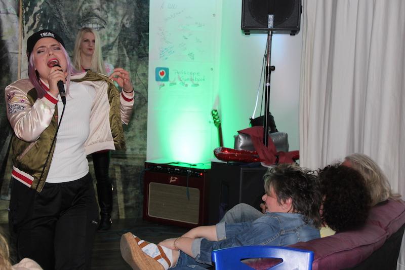 """Ausbildung zum Vocalcoach April 2018: Micka """"Piedro"""" in the house"""