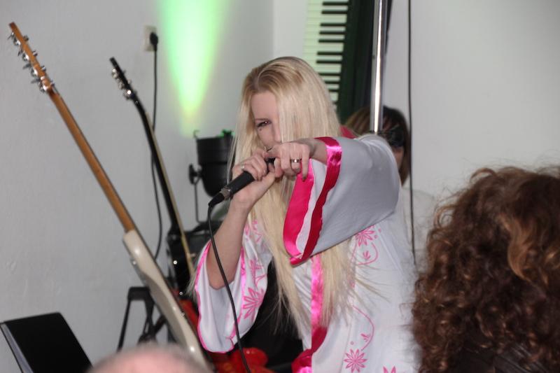 Ausbildung zum Vocalcoach April 2018: Jane in ihrem Element