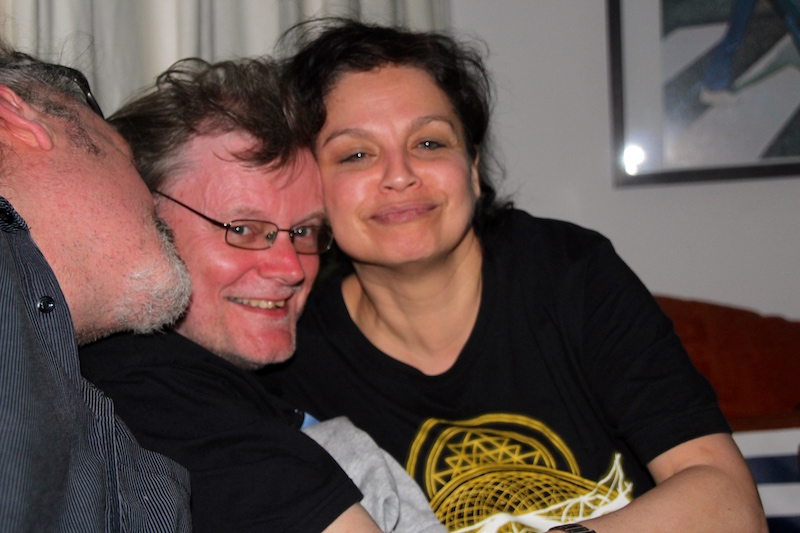 Ausbildung zum Vocalcoach April 2018: Nadja & Stefan sind extra aus Kiel angereist
