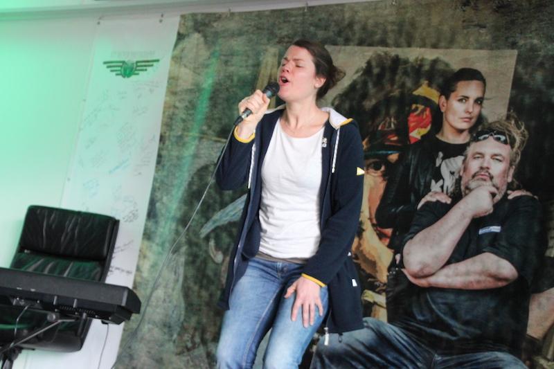 Ausbildung zum Vocalcoach April 2018: Jenny, vielen Dank, dass du unsere Probandin warst!
