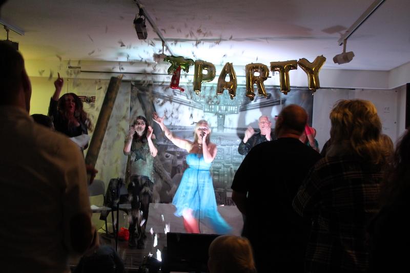 Sängerausbildung April 2018: Konfetti für Tini