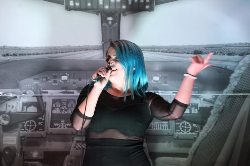 Sängerausbildung April 2018: Micka singt für ihre Eltern