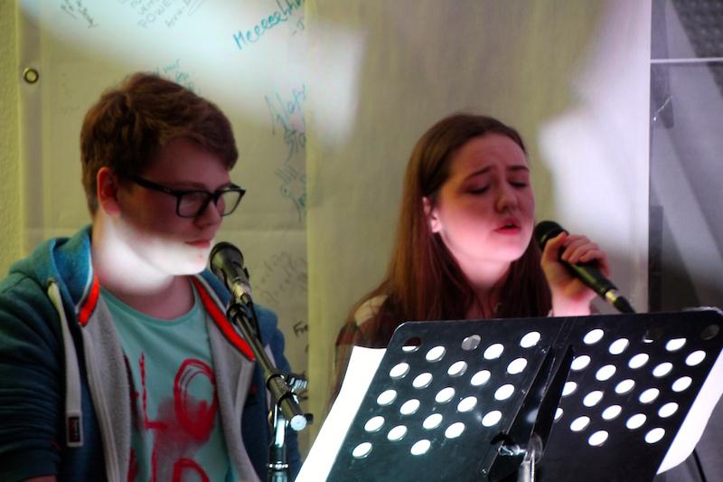 Sängerausbildung April 2018: Nico und Lou berühren mit ihrer Ballade