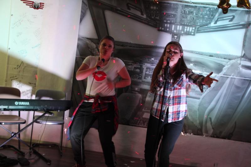 Sängerausbildung April 2018: Micka und Lou