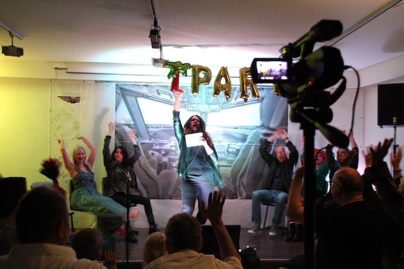 Sängerausbildung April 2018: Los geht´s! Paaartyalarm