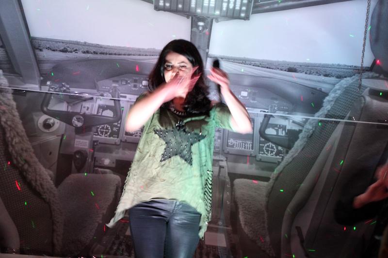 Sängerausbildung April 2018: Andrea aus der Schweiz