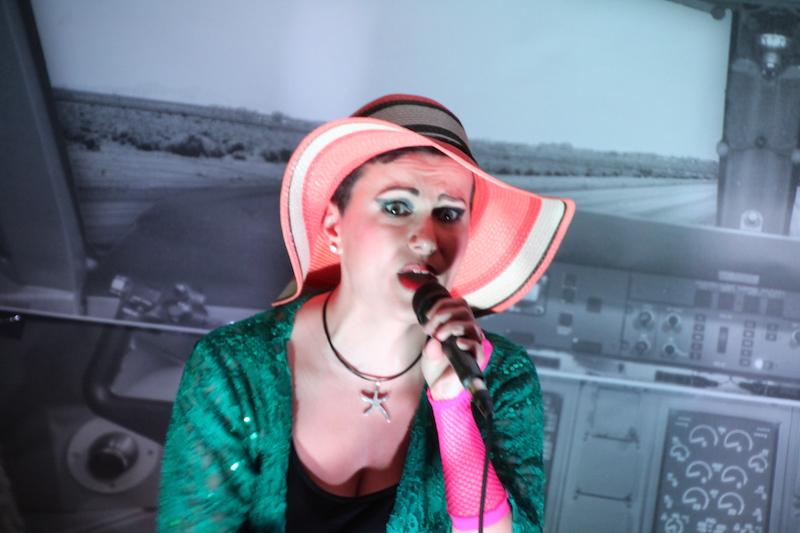 Sängerausbildung April 2018: Susi als Nina Hagen