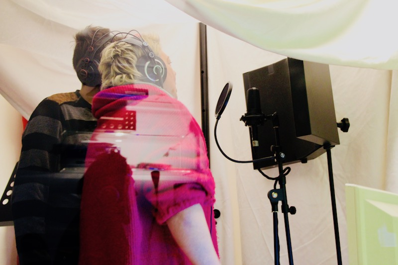 POWERVOICE: Sängerausbildung Azubi-Blog Teil 3/6 - Gesangsaufnahme