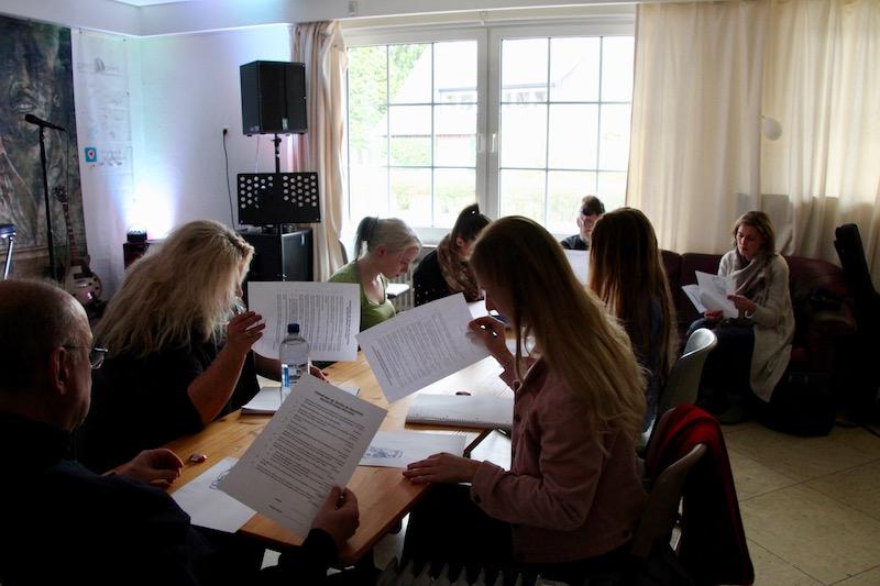 Ausbildung zum Vocalcoach - Abschlussprüfung Anatomie und Physiologie der Stimme