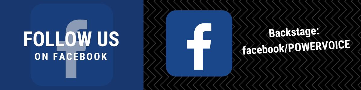 Folge POWERVOICE auf Facebook