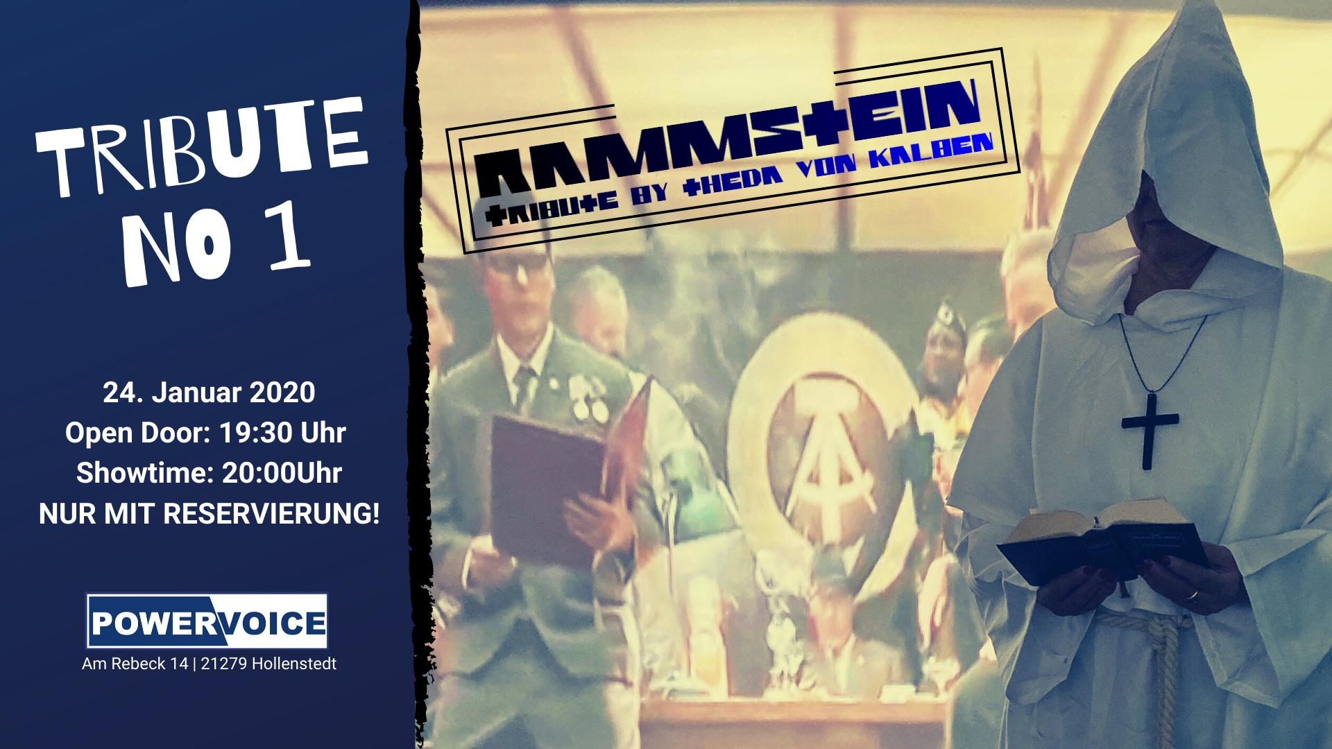 Rammstein Tribute Show by Theda von Kalben