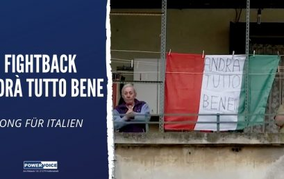 FIGHTBACK – Andrà tutto bene – Song für Italien